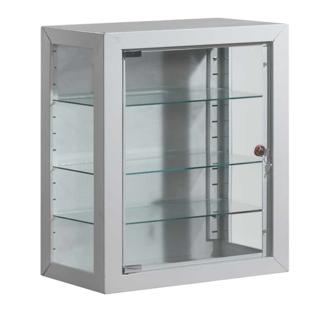 Armário de parede para estupefacientes c/ porta de vidro
