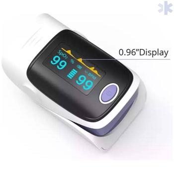 Oxímetro de dedo portátil – Medidor de pulsação e saturação de oxigénio