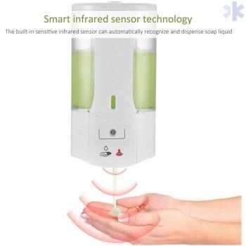 Dispensador sabão/álcool gel automático