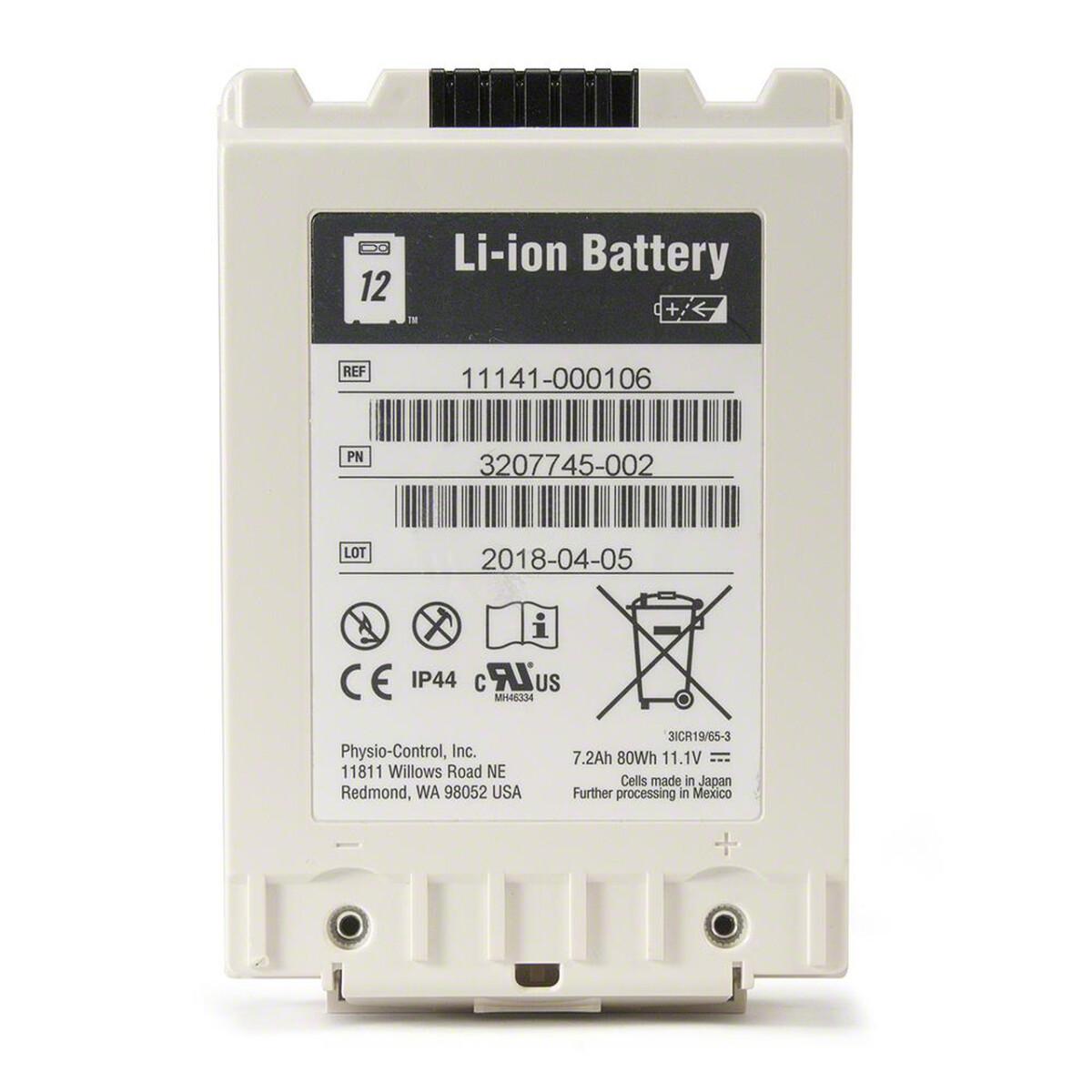 Bateria Li-ion para Lifepak 12